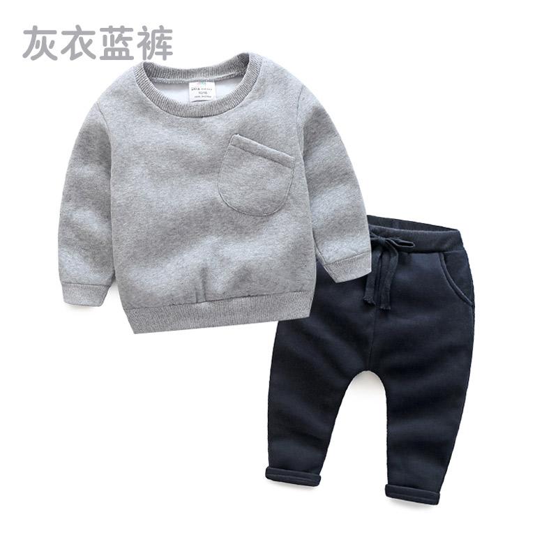 2018 весна царство хань новый человек девственницы ребенок ребятишки ребенок свитер брюки классика tz-2688