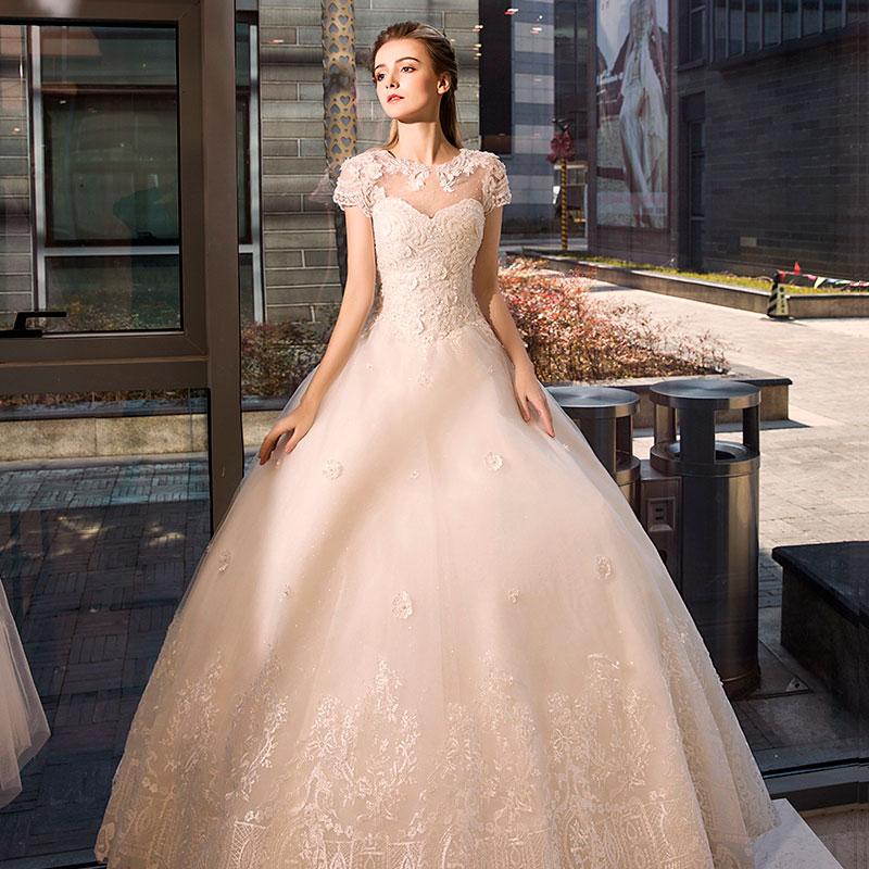 Красота филиппины крахмал саго часть женского имени 2017 новый ровная земля бандаж свадьба платья корейский невеста выйти замуж пакет плечо тонкий юбки